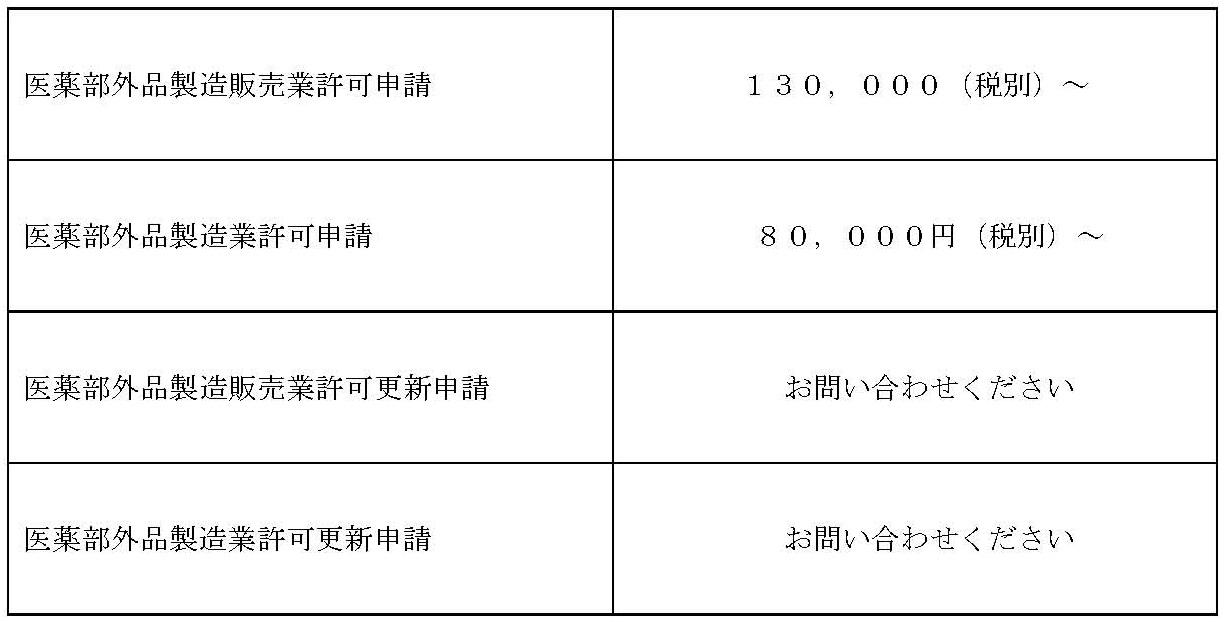 201803価格表(医薬部外品のみ)